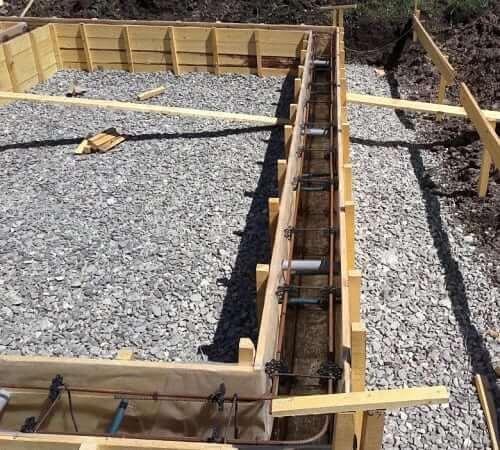 Подсыпка под бетон 2 на бетон